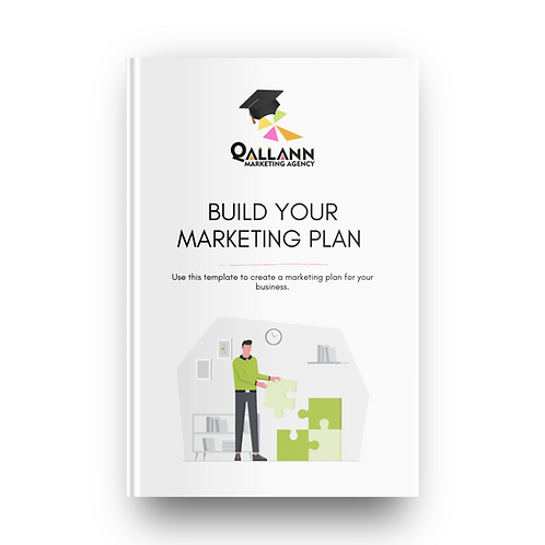 Build your Marketing Plan Template
