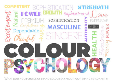 What do your brand colours say about your brand?