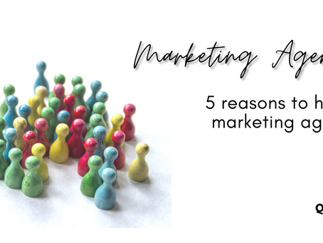 5 reasons to hire a marketing agency