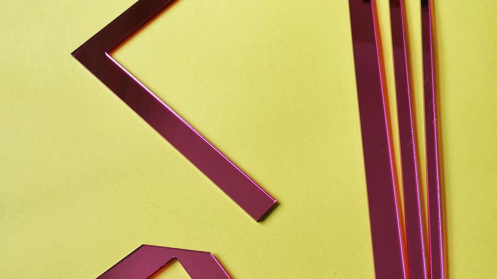 Bookbinding and Cartonnage Tool Set - PINK