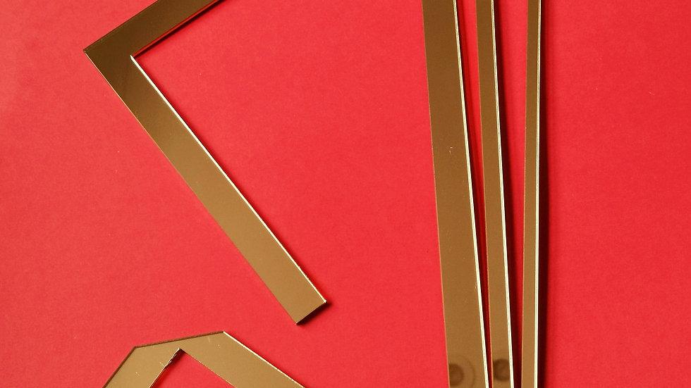 Bookbinding and Cartonnage Tool Set - GOLD
