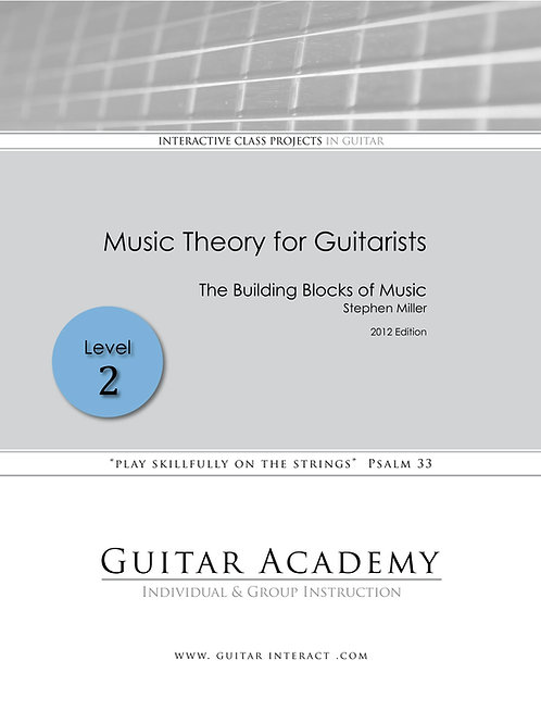 Music Theory for Guitarists - Level 2