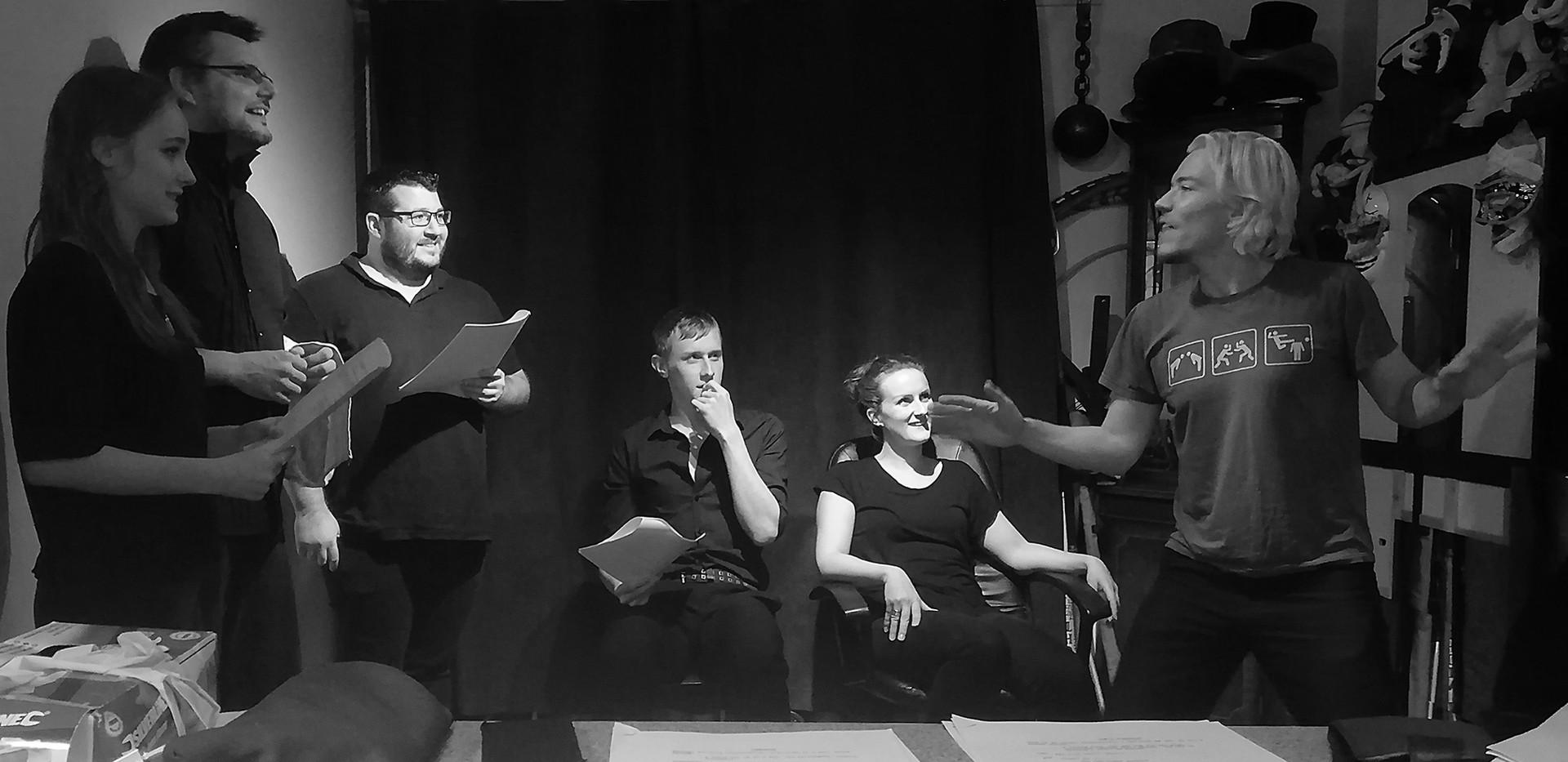 Comedy Showcase Rehearsal