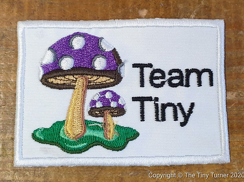 Team Tiny Embroidered Badge - The Cheeky One