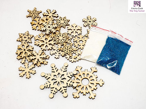 Snowflake and Glitter Accessory Pack