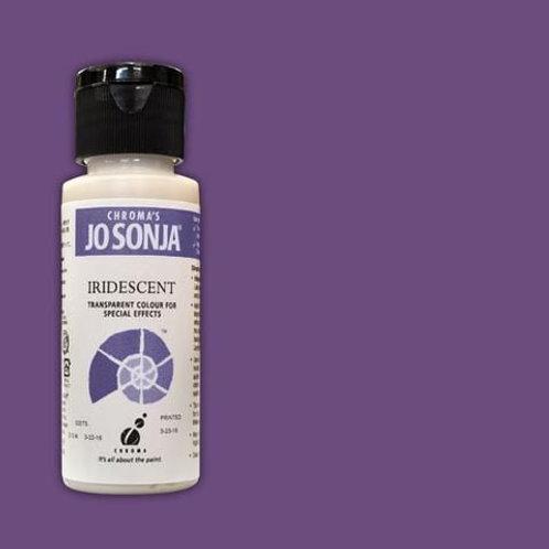 Chroma's Jo Sonja - Violet Iridescent Acrylic Paint 60ml