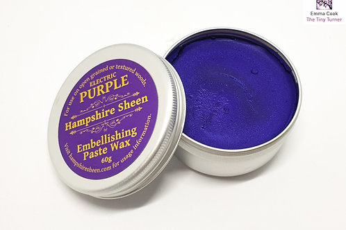 Hampshire Sheen - Electric Purple Embellishing Wax - 60g