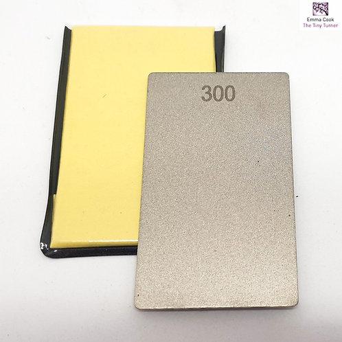 300/600 Grit Credit Card Diamond Stone