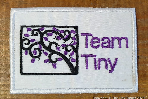 Team Tiny Embroidered Badge - The Classy One