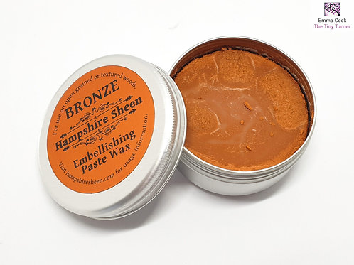 Hampshire Sheen - Bronze Embellishing Wax - 60g