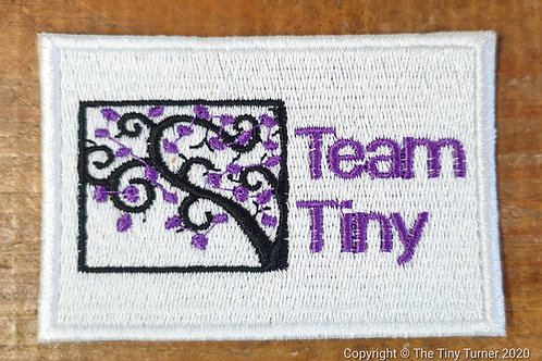 Luxury Team Tiny Embroidered Badge - The Classy One