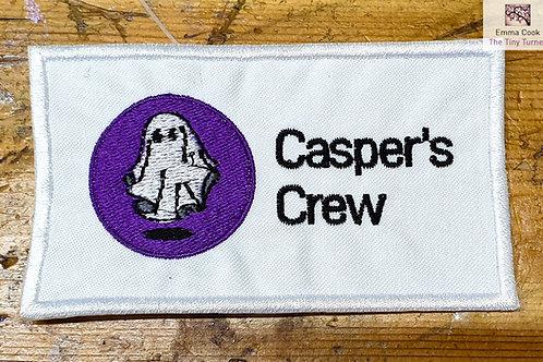 Casper's Crew Embroidered Badge