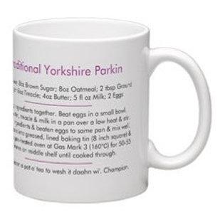 Tiny Turner Yorkshire Parkin Recipe Mug