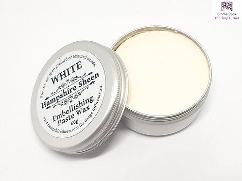 Hampshire Sheen - White Embellishing Wax - 60g