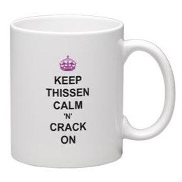 Keep Thissen Calm Mug