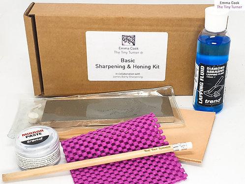 """7"""" Basic Chisel/Knife Sharpening & Honing Kit (Upgraded Basic)"""