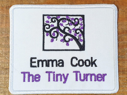 Tiny Turner Embroidered Badge