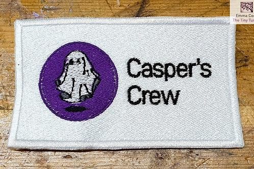 Casper's Crew Luxury Embroidered Badge