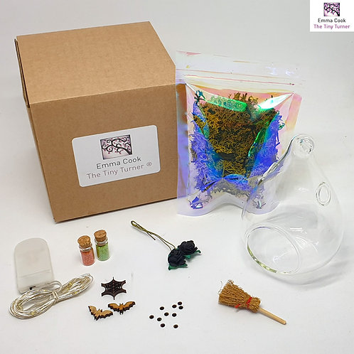 Esmeralda the Witch's Toadstool House DIY Kit for Woodturners