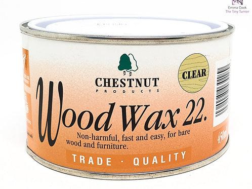 Chestnut Products - Wood Wax 22 - 450ml