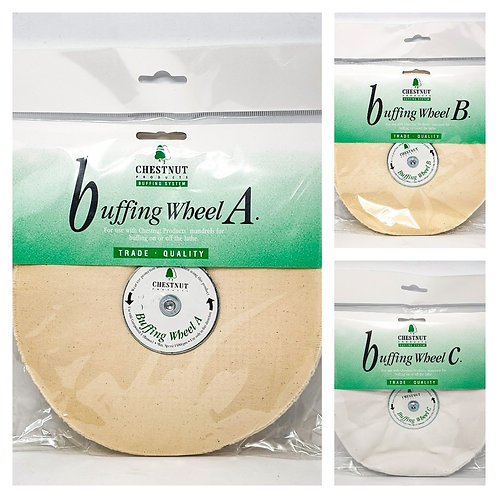 Chestnut Products - Large Buffing Wheel Set WITHOUT MANDREL