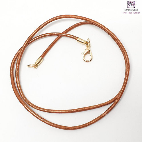 Leather Pendant Kit without Pinch Bail