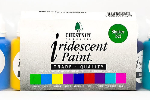 Chestnut Products - Iridescent Paint Starter Set - 9 x 30ml