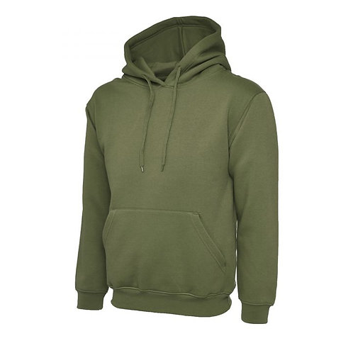 Unisex Hoodie with Embroidered Team Tiny Logo - WITHOUT Personalisation