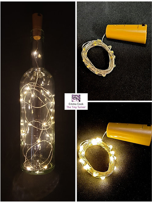 Bottle Cork LED Fairy Lights (Warm White)