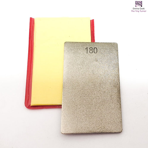 180/300 Grit Credit Card Diamond Stone
