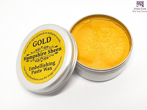 Hampshire Sheen - Gold Embellishing Wax - 60g