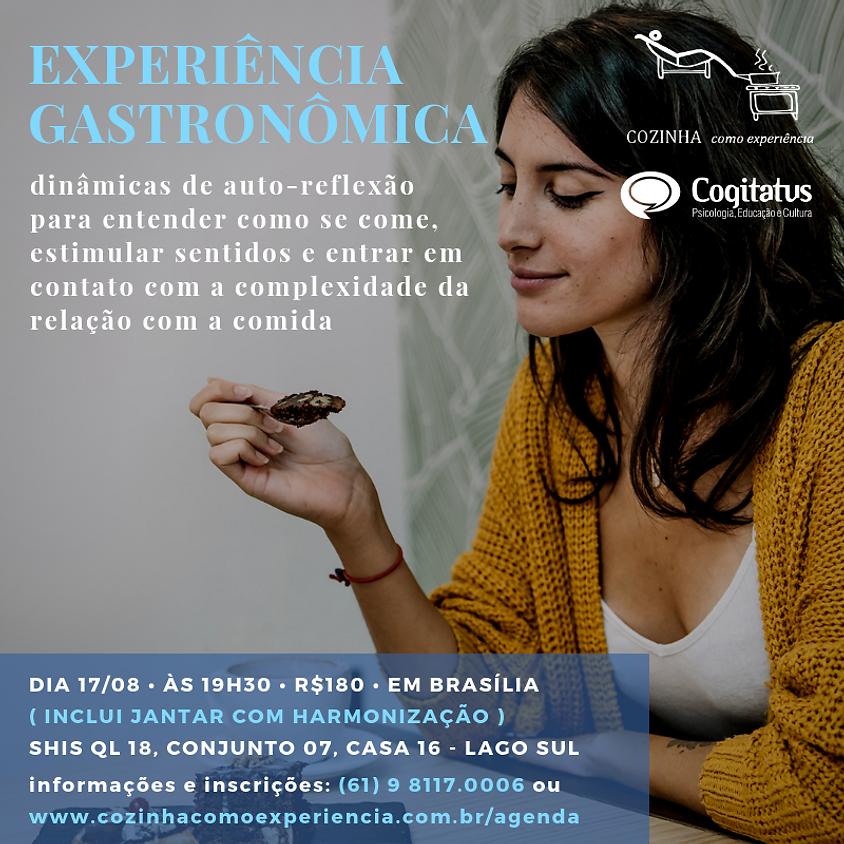 Experiência Gastronômica *EM BRASÍLIA*