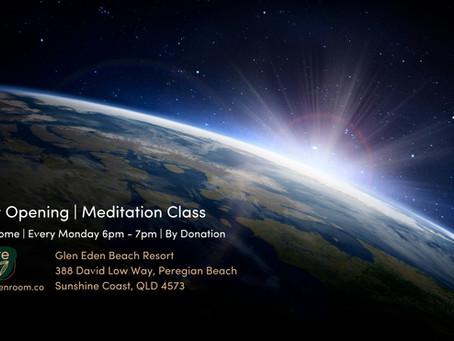 Meditation classes @ Glen Eden Beach Resort