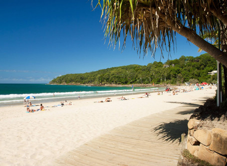 Sunshine Coast's Ever-Popular Noosa Beach