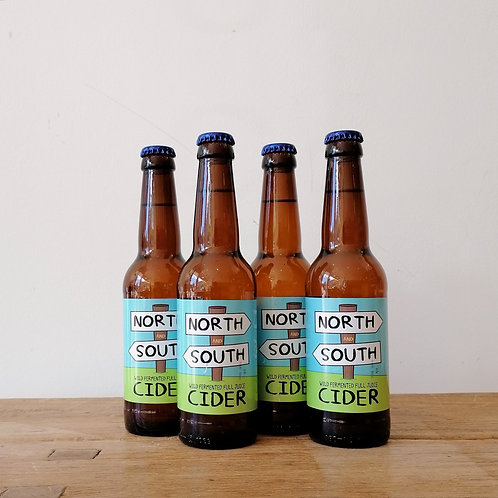 Caledonian Cider - North & South 330ml 4-pack