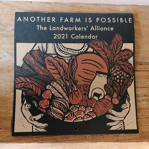Landworkers' Alliance 2021 Calendar: Another Farm is Possible!