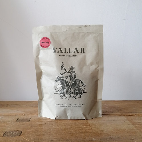 Yallah coffee beans - EXPLORE - Grass Roots PNG 250g
