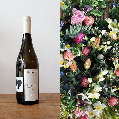 Flower bunch & bottle