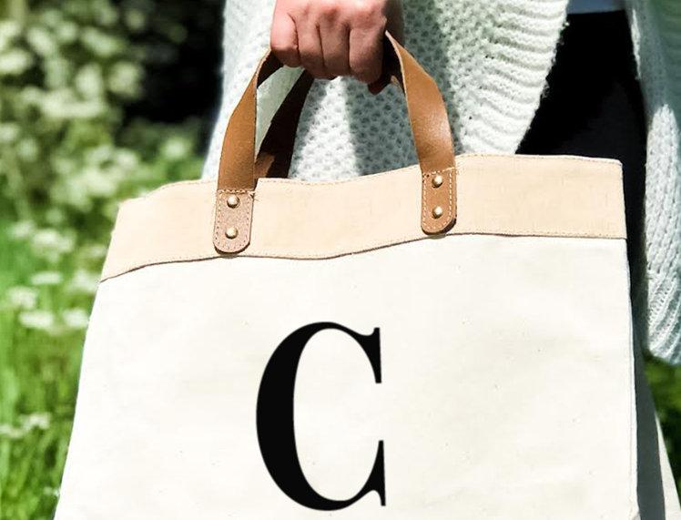 Shopper Canvas - Letter