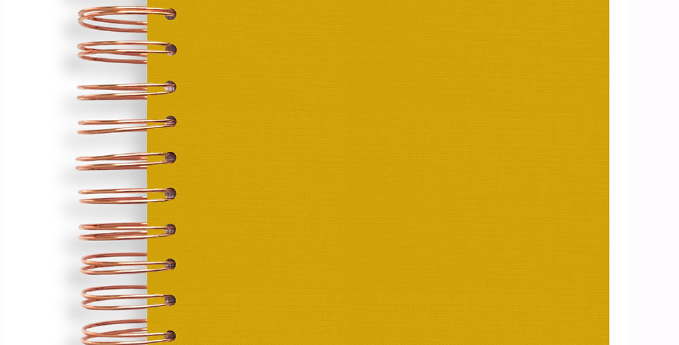 Notebook - Mustard Yellow
