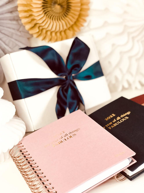 Christmas Box with 2022 planner