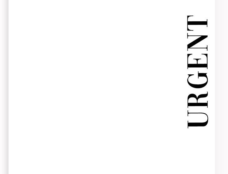 Notepads - Urgent