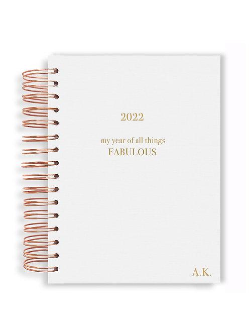 2022 Planner - White