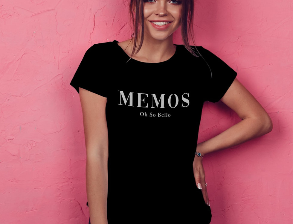 Fitted T-shirt  - Memos