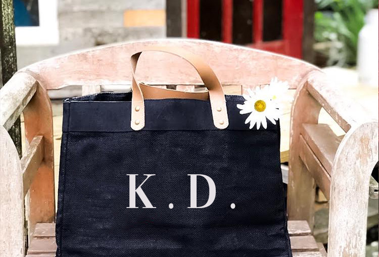Jute Bag - Personalised Monogrammed