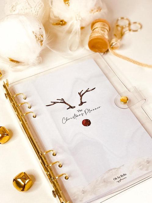 Christmas Planner / Gold Binder