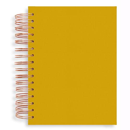 Notebook - Mustard Yellow