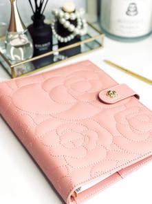 Blush Pink Luxury Binder