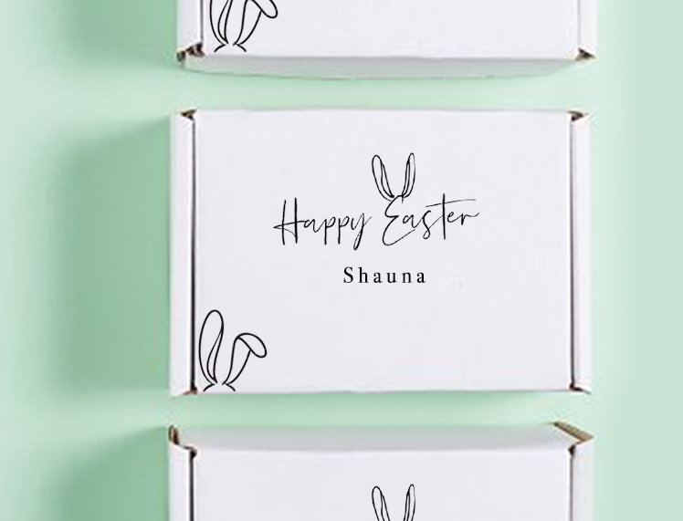 Stationery Box - Happy Easter