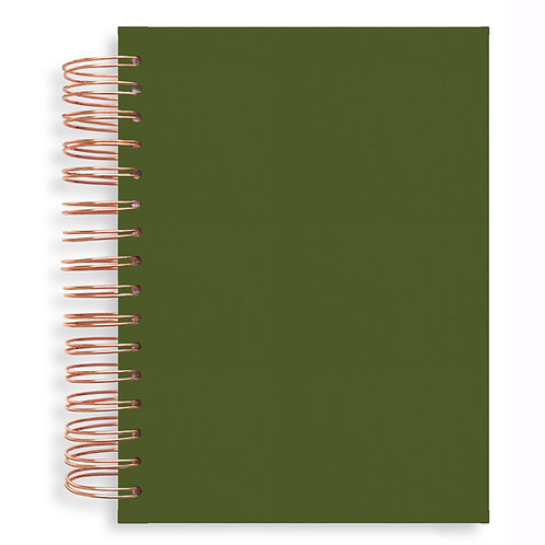 Notebook - Olive Green
